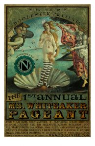 ms whiteaker pageant poster
